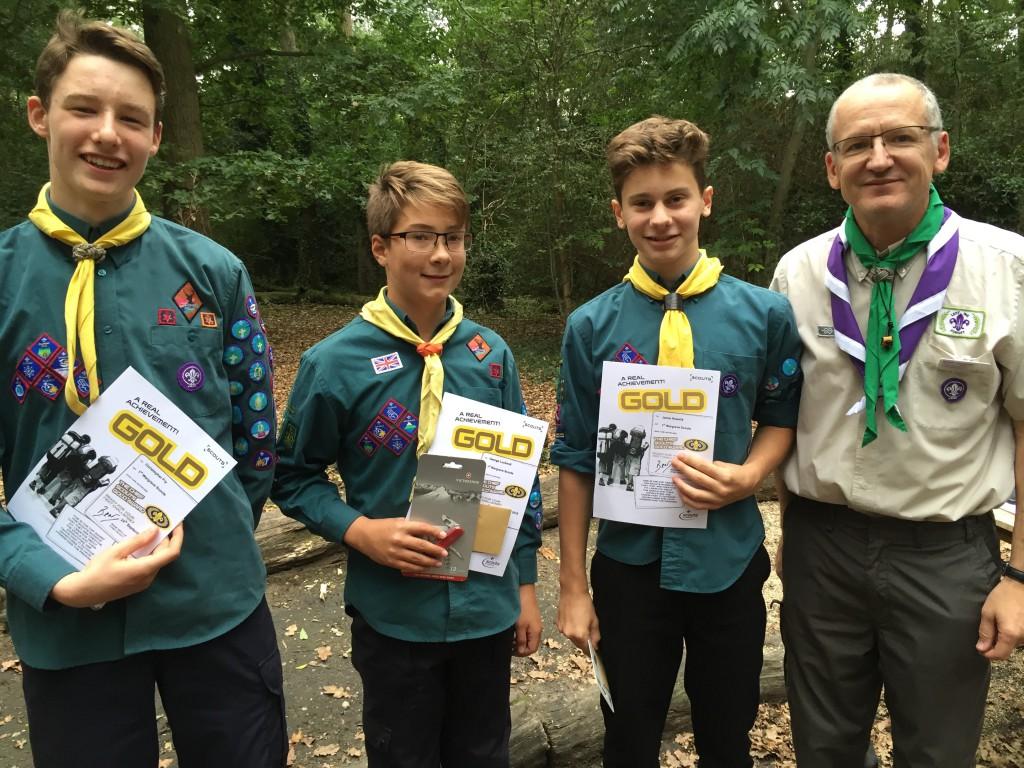 scouts-triple-gold-award